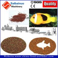 Quality 500kg/h full automatic fish feed  processing making machine for making fish food for sale