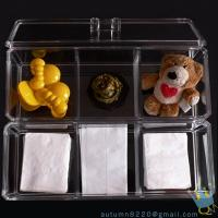 Quality acrylic cosmetic organizer case for sale