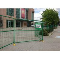 Buy cheap 8ft x 12ft temporary metal fence panels hot sale temporary construction fence for rent hire from wholesalers