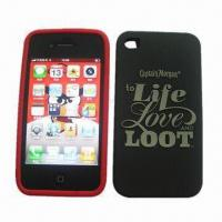 Quality Silicone Cases for iPhone 4G/4S, Durable, Various Sizes, Colors and OEM Orders are Available for sale