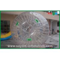 Quality Custom Transparent Zorb Ball Large PVC / TPU For Adult / Children for sale