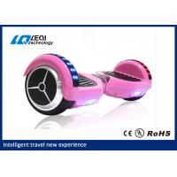 Pink 8 Inch Self Balancing Scooter Board , Electronic Balance Scooter Max Loading 130KGs