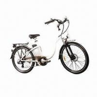 China 26-inch Aluminum Frame Electric Bike with Lithium Battery on sale