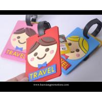 Quality wholesale good quality custom promotional soft pvc luggage tag for sale