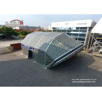 Quality High Quality Permanent Clear Span Tent House / Outdoor Warehouse Tents for sale