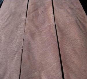 Quality Natural African Sapele Pommele Wood Veneer Sheet for sale