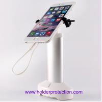 China COMER clip stand phone display product security cradle pedestal for exhibitions with internal cable on sale