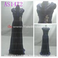 Quality Red bridesmaid dress prom dress evening dress#AS1472 for sale