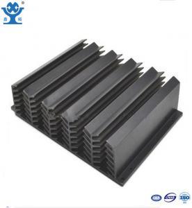 Quality 6063 Alloy Extruded Aluminium Heatsink Surface Black Temper T3 - T8 for sale