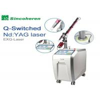 Quality FDA Approved Q Switched Nd Yag Laser Machine For Pigmentation Removal for sale