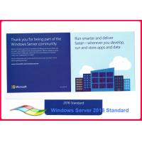 Buy cheap Lifetime Warranty Windows Sever 2016 Standard OEM Pack Genuine 32bit from wholesalers