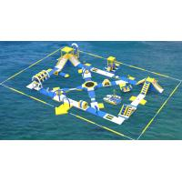 Quality Lake Inflatable Water Games For Adults / Bouncia Water Inflatable Park Manufacturer for sale