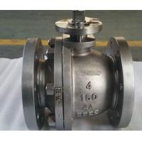 Two Piece Cast Steel Floating Low Pressure Ball Valve