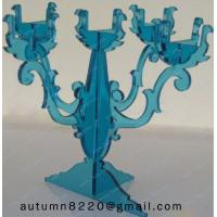 Quality CH (40) decorative Acrylic candle holders for sale