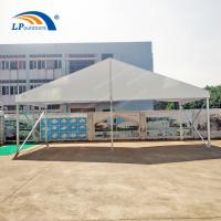Quality clear span 10 m PVC roof cover aluminum frame party tent for outdoors event for sale