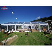 Quality Colourful Cover Outdoor Marquee Clear Span Tent For Event Wind Speed Allowance 100km/h for sale