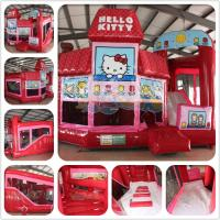 Quality Inflatable combo Hello Kitty 3D 5-in-1 Combo for sale