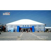 4m side height high end double deck tent house for 300-500 people with Solid wall for sale