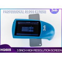 Buy cheap TFT 3.5 Inch Display 3NH Paint Printing Inks Professional Gloss Meters HG60S from wholesalers