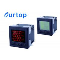 Quality Electric Power Digital Panel Meter 3 Phase With Power Pulse Transmission Output Function for sale