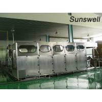 Quality Pure Mineral Barrel  Water Filling Machine 5 Gallon  High Degree Of Automation for sale