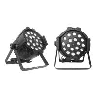 Buy Indoor 18x10w Rgbw 4 In1 Led Par Can Lights High Brightness Dmx512 at wholesale prices
