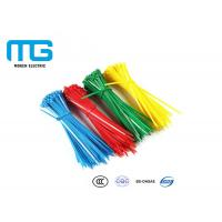Quality Self Locking Nylon Cable Ties Fire Resistance With CE , UL Certification for sale