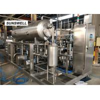 Quality DN65 Material Outlet Diameter Carbonated Drink Bottling Machine For Beverage Factory for sale