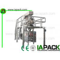 Quality 3KW Dried Fruit Bag Packing Machine Form Fill Seal For Gusseted Bag for sale