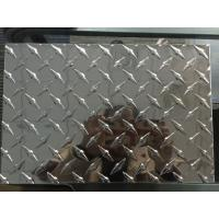 Quality Customized Diamond Aluminum Sheet Industrial Aluminum Checkered Plate For Boat Lift for sale