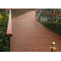Quality Eco Poly Bamboo Deck Tiles 1220 Kg/M³ Density With Low Expansion Rate for sale