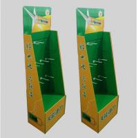China Hook type cardboard shelf, cardboard display rack, toy display stand, paper display stand,Size can be customized on sale