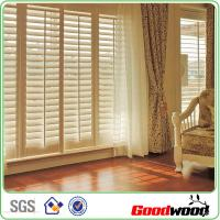 Quality Bespoke Shutter Window Louver Beautiful Paint Blind Componets for sale