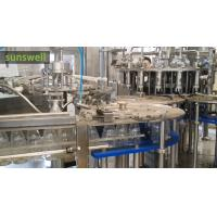 Quality Plastic Bottles Hot Filling Machine Coconut , Juice Filling Machine for sale