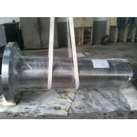 Buy 42CrMo4 / 34CrNiMo6 Forged Steel Shaft , Wind Power Spindle EN10228 Class D at wholesale prices
