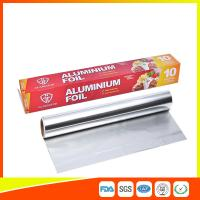 China Customized Household Aluminum Foil Roll For Food Wrapping , Aluminum Foil Paper on sale