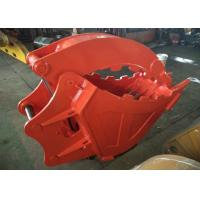 Buy Single Cylinder Excavator Bucket Grab , Excavator Rock Bucket For Doosan DX225 Excavator at wholesale prices