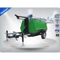 Quality Portable LED Light Towers / Telescoping Mast Trailer Mounted Light Towers for sale