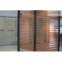Quality Natural Flat Finish Terracotta Baguette Louver For Ventilated Facade System for sale