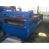 Buy High quality corrugated steel tile roll forming machine, cold roll forming at wholesale prices
