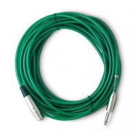 Quality 1.8m Video Microphone Cables Small order acceptable to 1/4 inch MONO JACK for sale