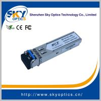 SFP Transceiver 1.25G Converted to MM 1GBE SFP LX 20KM Module for sale