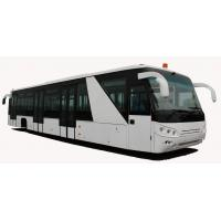 Buy Comfortable Short Turn Radius Airport Shuttle Bus Low Floor Buses at wholesale prices