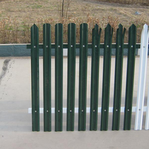 Hot selling long life stone palisade fence