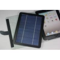 Quality 5V 700mah Durable USB Ipad Solar Charger Case / Cases with Removable Bluetooth keyboard for sale