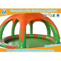 Quality Round Inflatable Water Walking Ball Pool With Detachable Air Tent For Zorb Ball for sale