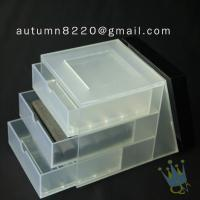 Quality BO (26) colored acrylic box for sale