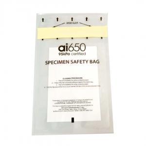 Quality FDA Heat Seal Medical Tourniquet 95KPA Specimen Bag for sale