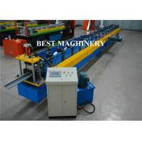 Quality Aluminum Galvanized PVC Roofing Gutter Roll Forming Machine Hall Round for sale