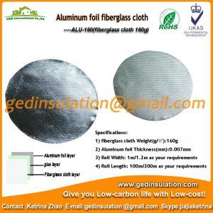 Buy cheap aluminum coated fabric from wholesalers